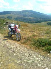 Od Vlasine sa 1.200 prema Besnoj Kobili na 1.900 m