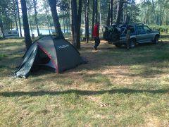 Kamp na Vlasinskom Jezeru