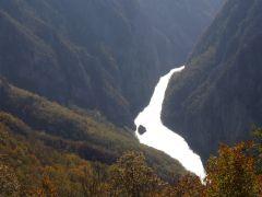 Kanjon Drine iz najzapadnije tačke Srbije