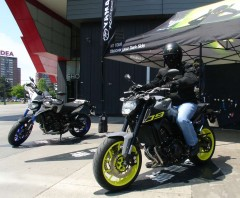 Yamaha MT Tour 2016