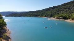 Вештачко језеро - Lac de Sainte-Croix