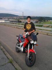 ja i moj moped :D