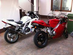 Ducati 998 & SV 650 S