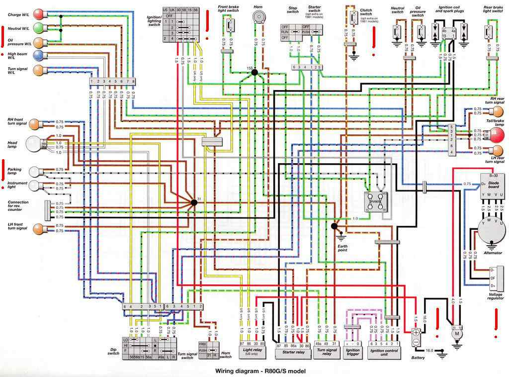 BMW K1 Wiring Diagram Wiring Diagrams Collection