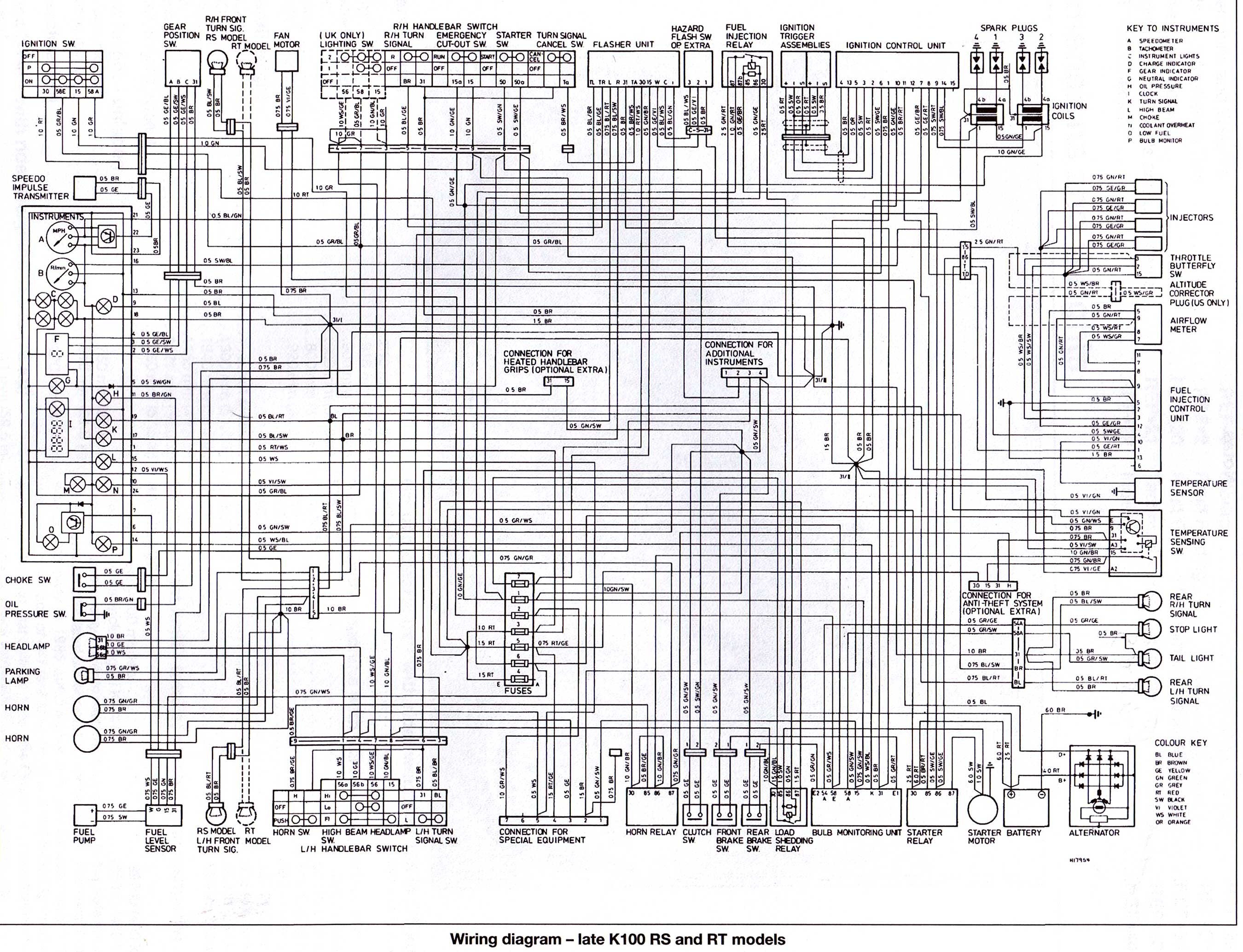 Wiring Diagrams 1985 Bmw K100 - Free Download Wiring Diagram
