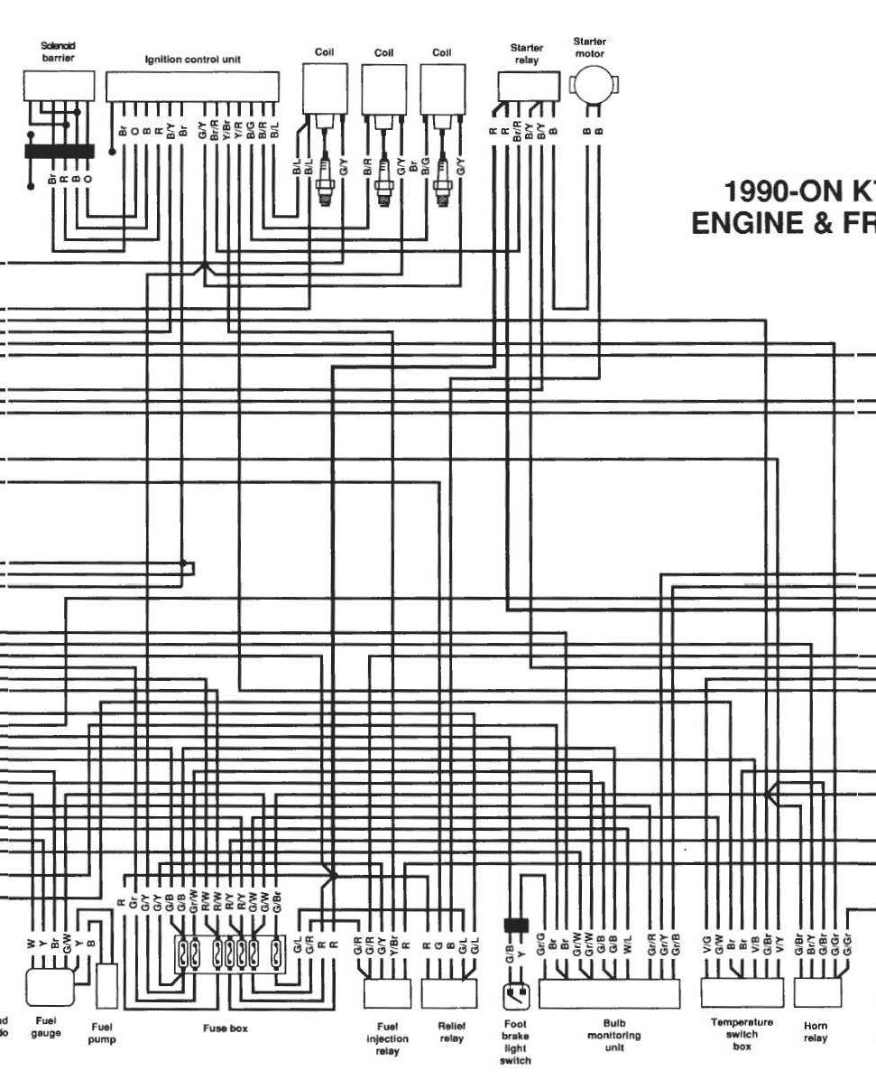 Schema Elettrico Bmw K75 : Svi modeli wiring diagram bmw bjbikers forum