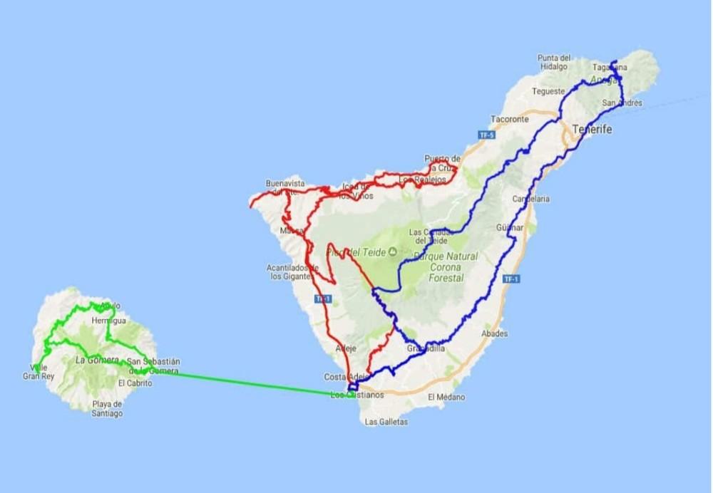 Kanarska ostrva u februaru (motorom)