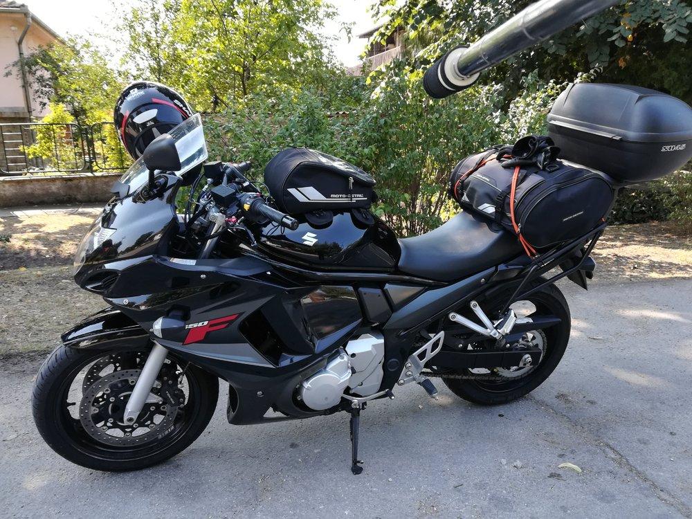 spreman motocikl za put